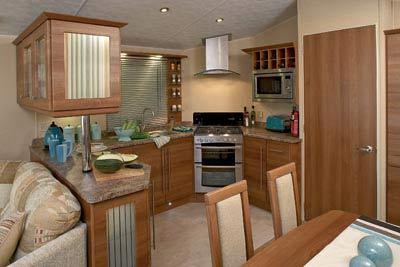 The Willerby Aspen's kitchen