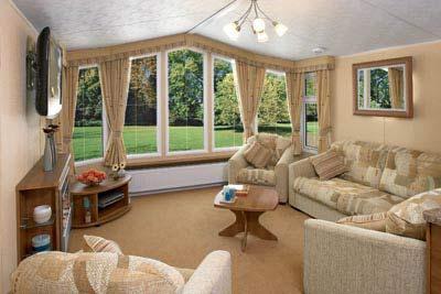 Living room of the Aspen