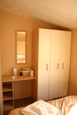 Wardrobe in the main bedroom