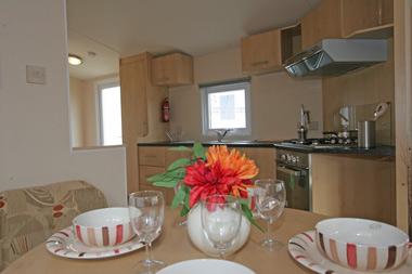 Dining kitchen in the Thornham