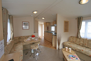 Living area in the Thornham