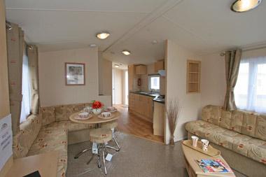 Living area in the Thornham