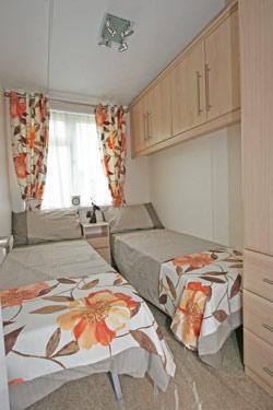 Omar Miramar's twin bedroom