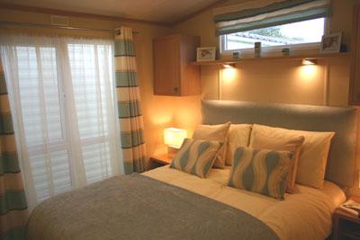 St Moritz's main bedroom