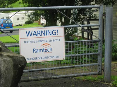 Warning! This site is protected by the Ramtech 24 hour security system
