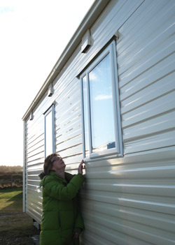 Check the vents and exterior of your holiday home