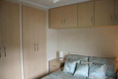 Main bedroom in the Warwick