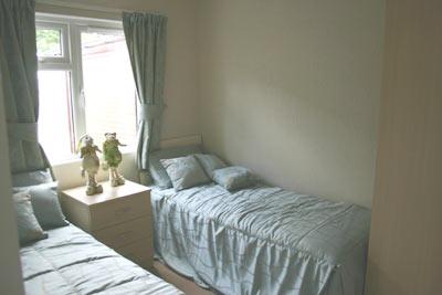 Twin bedroom in Warwick