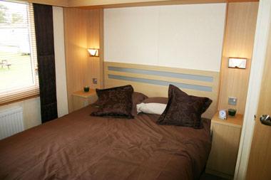 The Chamonix's double bedroom