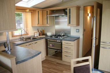 Swift Chamonix's kitchen