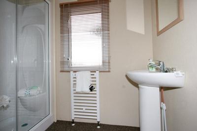 The Ventura's shower room