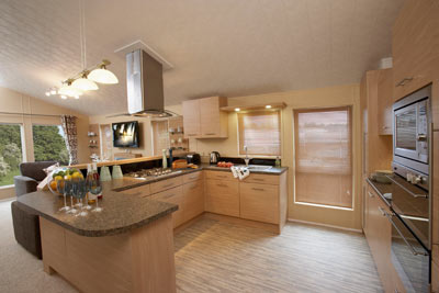 Willerby Boston's kitchen