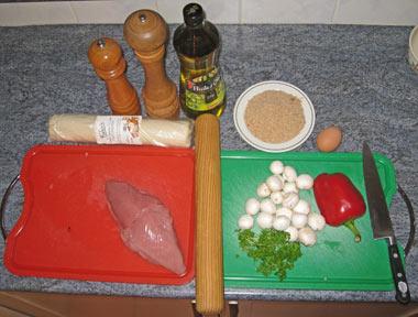 Turkey En Croute Ingredients