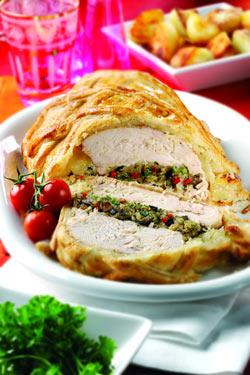 Turkey En Croute