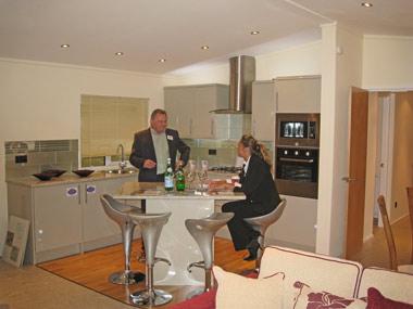 Pathfinder Retreat Lodge Kitchen