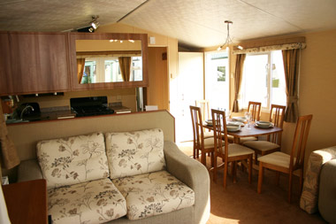 Willerby Salisbury Select Dining Area