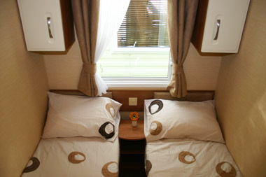 Willerby Salisbury Select Twin Bedroom
