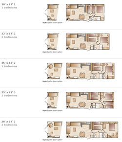 Swift Bordeaux Floorplans