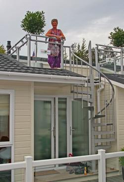 Tingdene Escape roof terrace