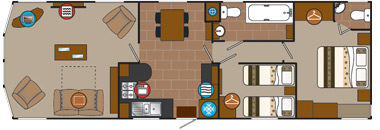 Willerby Winchester Mk 4 floorplan