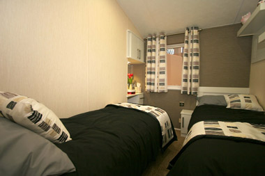 Willerby meridian twin bedroom