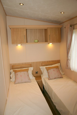 The three bedroom abi ambleside holiday caravan - All in one double bed ...