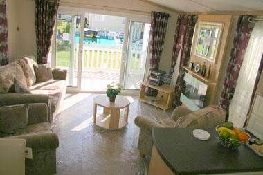 Carnaby Rosedale Static Caravan Lounge