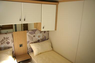 Carnaby Rosedale Static Caravan Twin Bedroom