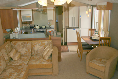 3 Bedroom Willerby Aspen Scenic Static Caravan