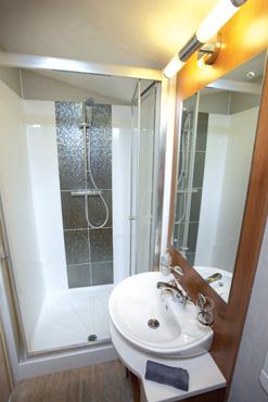 Willerby Aspen Scenic shower room