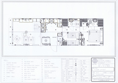 ABI Kentmere floorplan with dividing wall