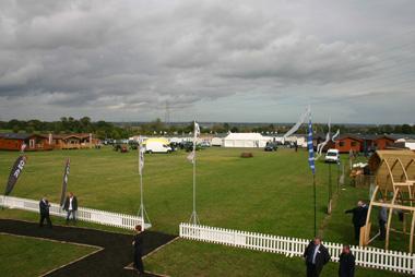 Lawns Show 2011 lodges