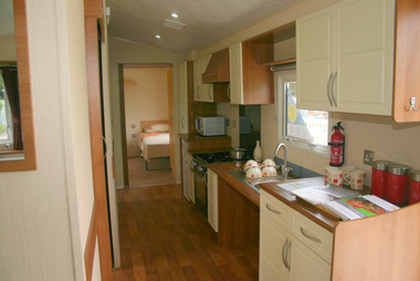 Willerby Rio Disabled Kitchen