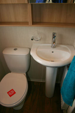 2012 Swift Bordeaux Toilet and Sink