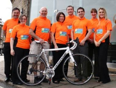 Great Yorkshire Bike Ride - Leisuredays Team 2012