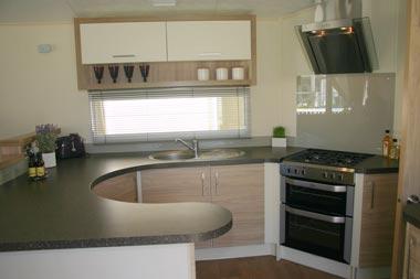willerby curved kitchen work top