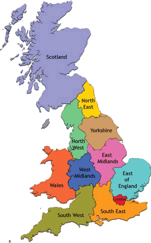 uk map cutout