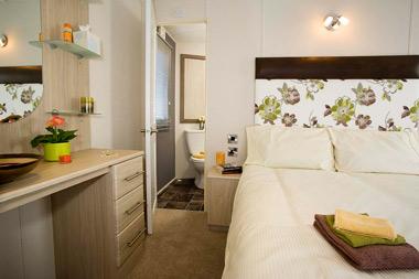 Delta Glade Static Caravan Master Bedroom