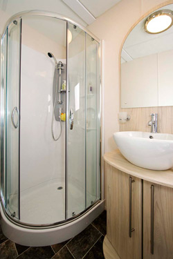 Delta Glade Static Caravan Shower Room