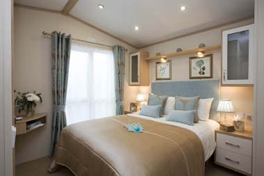 Pemberton Harmony Static Caravan Master Bedroom