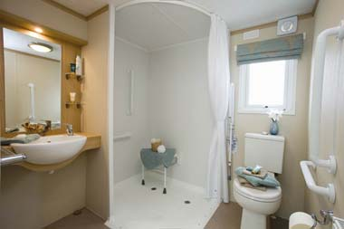 Pemberton Harmony Static Caravan Shower Room