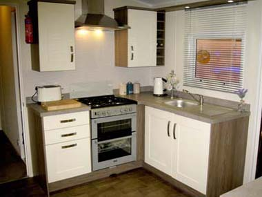 2013 Willerby Cameo kitchen