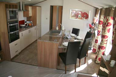 ABI The Lodge 2-bed kitchen area