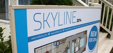 Willerby 2014 3-bed Skyline holiday home