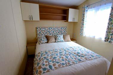 2014 Regal Regency Static Caravan Main Bedroom