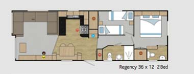 2014 Regal Regency Floor Plan