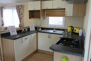 2014 Regal Regency Static Caravan Kitchen