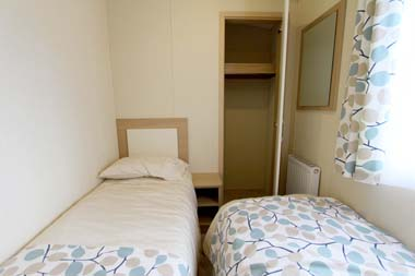 2014 Regal Regency Static Caravan Twin Bedroom