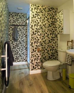Hay Safari Tent interior bathroom
