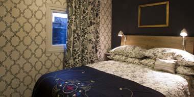 Hay Safari Tent interior bedroom